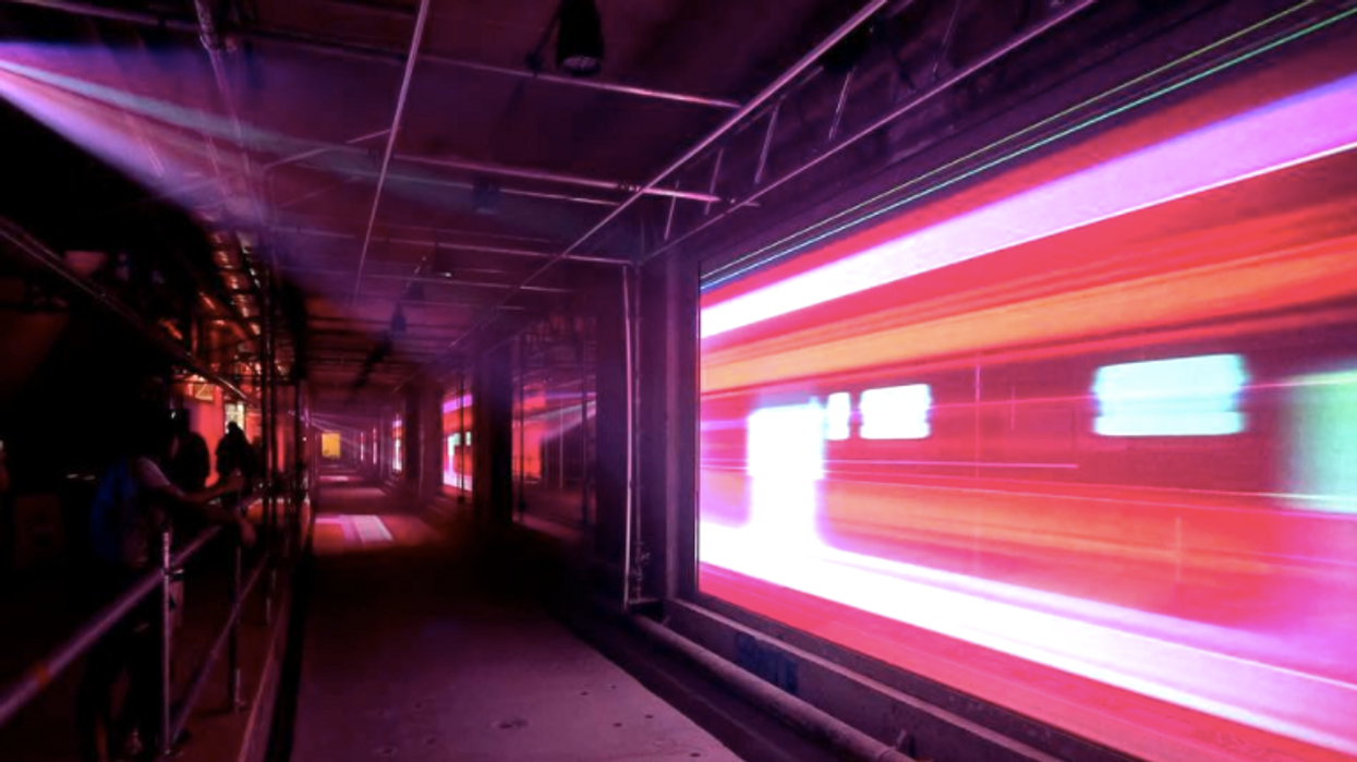 There Is A Free Underground Light Show In Ottawa And You Can't Miss It