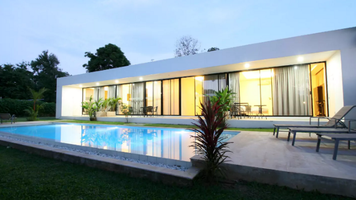 You Can Rent This Super Modern Thai Villa For $68 A Night