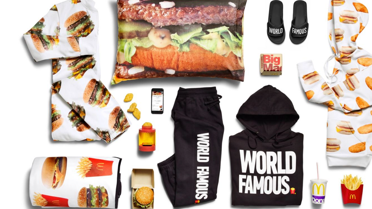 McDonald's Just Launched A Fire Clothing Line & You Can Get It For Free