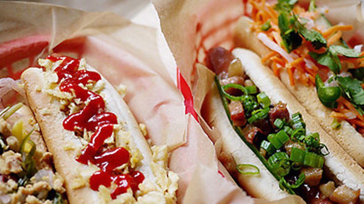 Des hot dogs à 1$ à Montréal aujourd'hui seulement!
