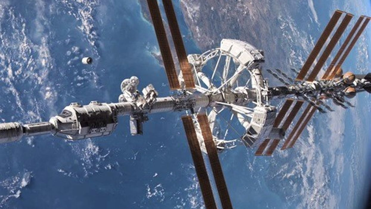 You Can Now Take A Street View Tour Of The International Space Station And We're Shook