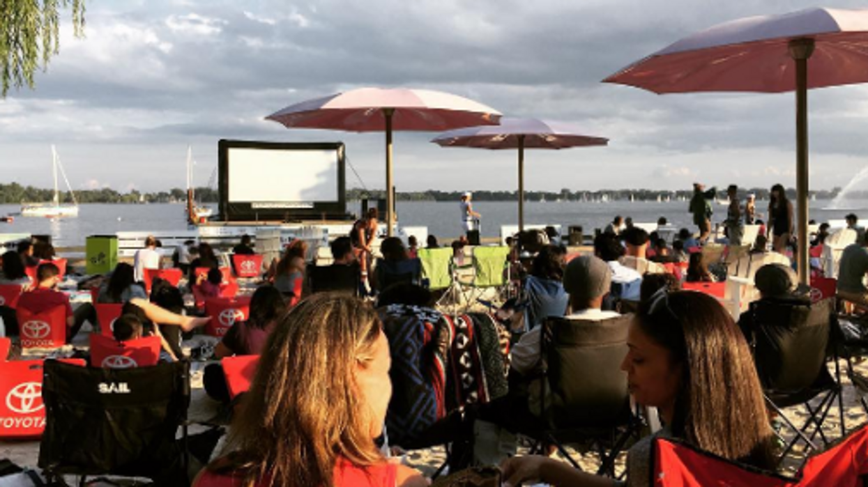 You Can Watch Movies On A Floating Screen In Lake Ontario This Month