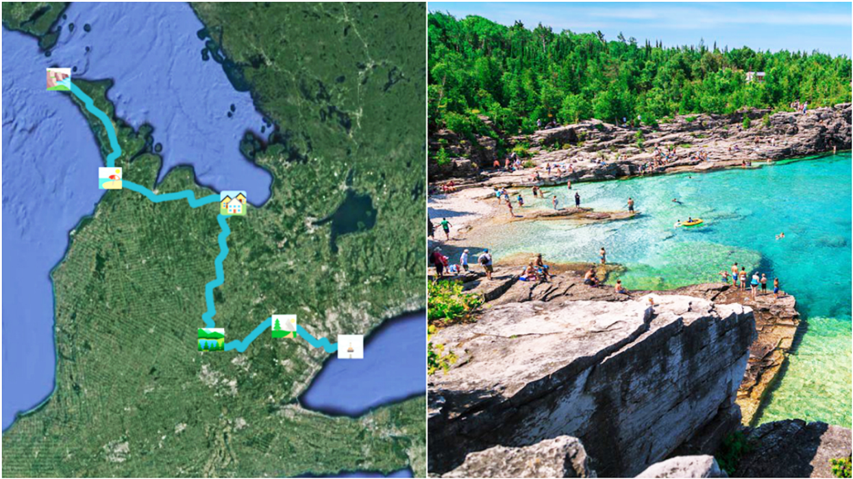 This Is The Coolest Road Trip You'll Ever Go On From Toronto To Tobermory