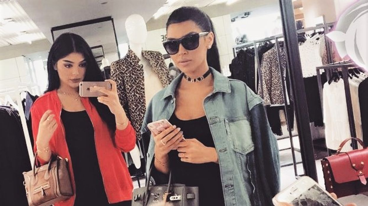 Kardashian Copycat Sisters Look So Much Like Kim and Kylie It's Freaky