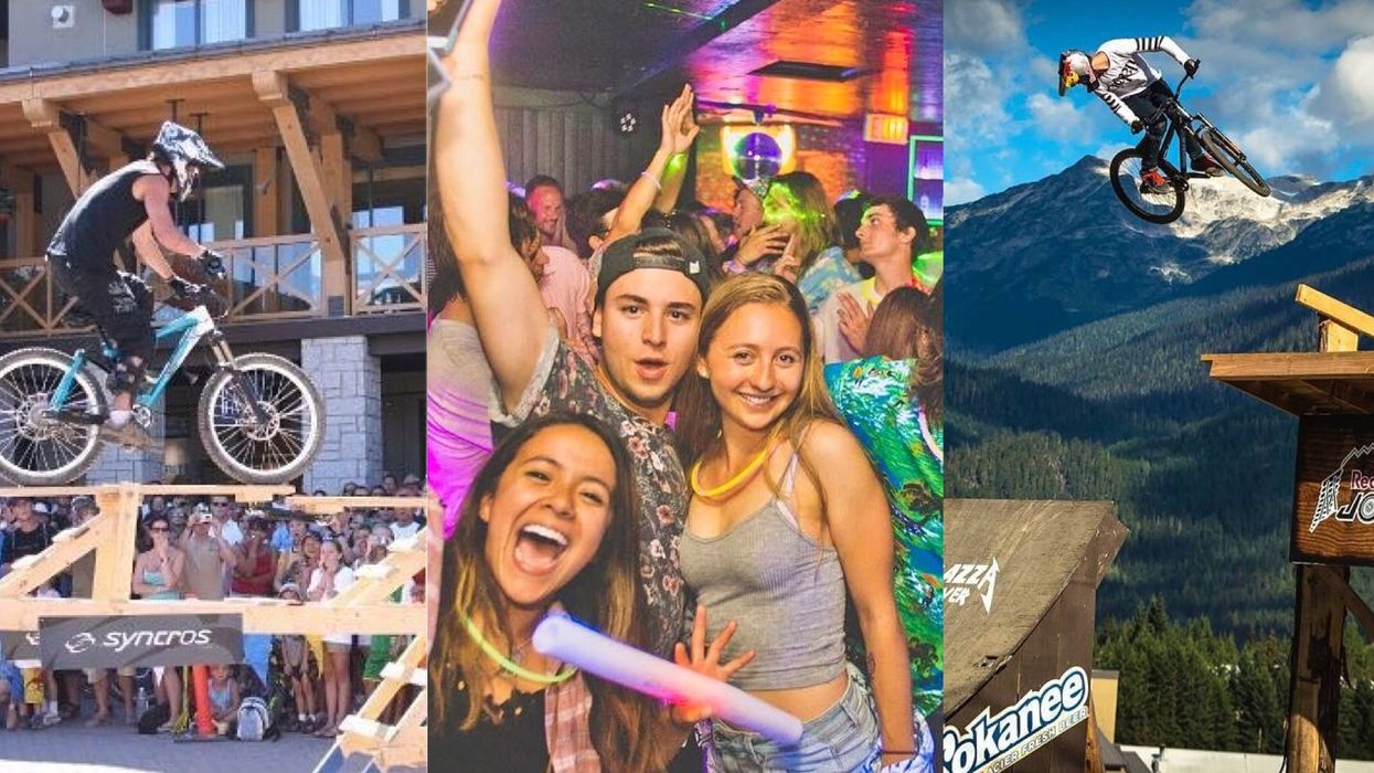 Crankworx Is Returning To Whistler And It's Going To Be The Biggest Party Of 2017
