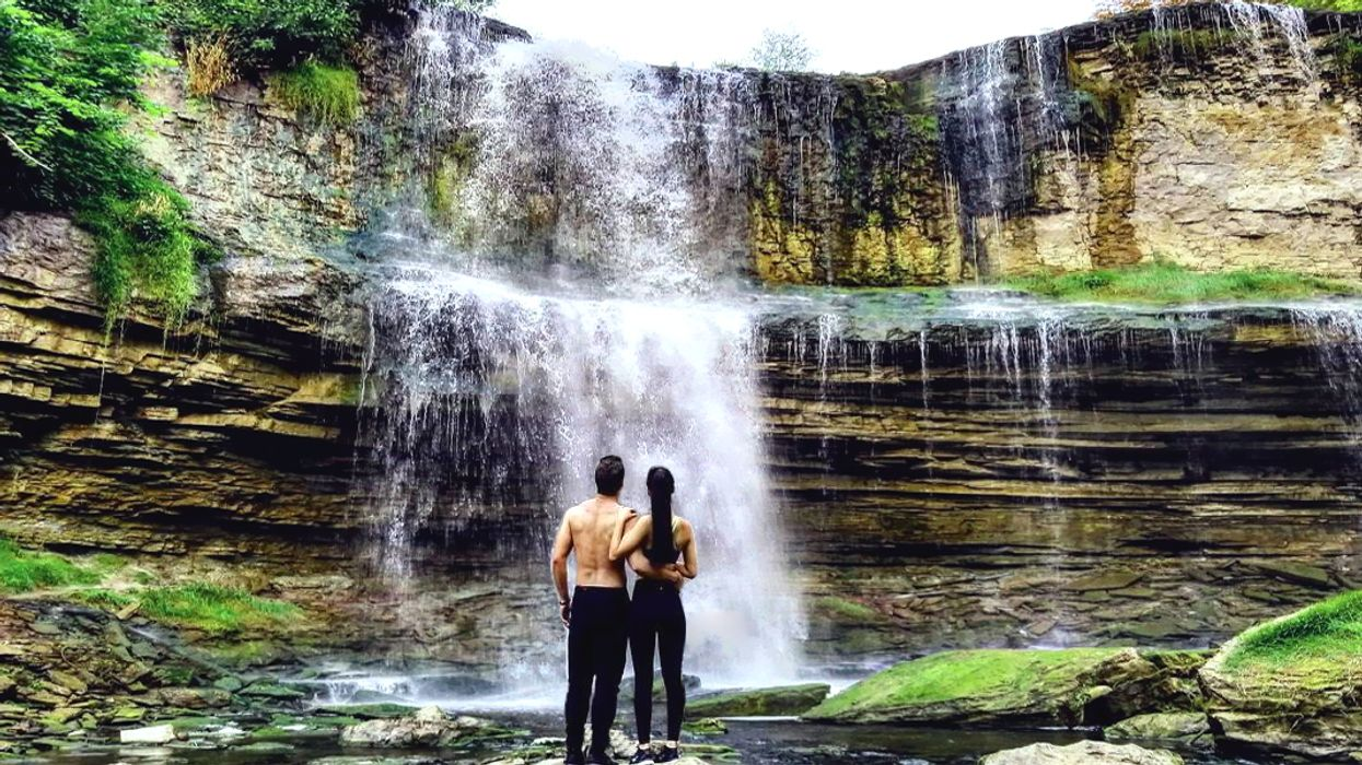 You Must Visit This Two-Tier Waterfall In Ontario Before Summer Ends