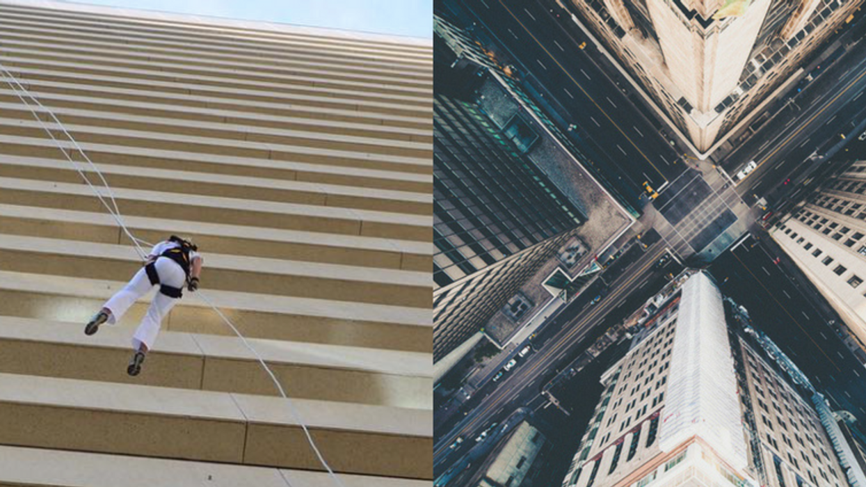 You Can Climb Down A 20 Storey Building In Ottawa And It's Insane
