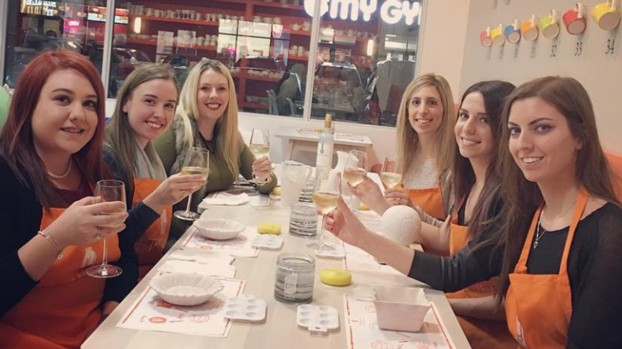 You Can Paint While Sipping On Wine Or Bubble Tea At This Ottawa Shop