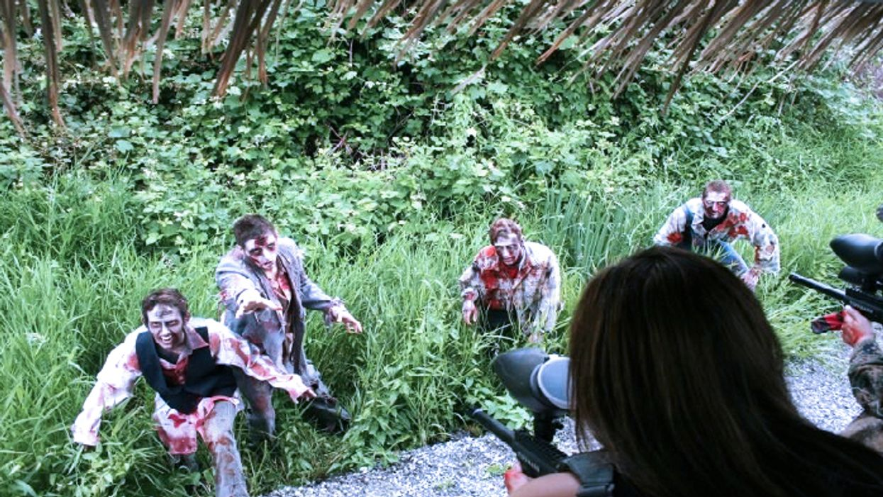 This Zombie Paintball Park In Ontario Is Like 'The Walking Dead' In Real Life