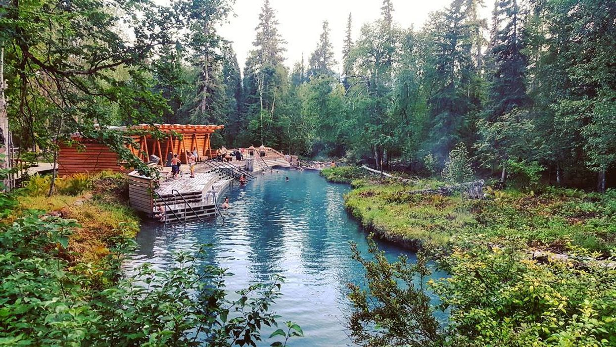 This Map Will Take You To All Of BC's Most Surreal Natural Hot Springs