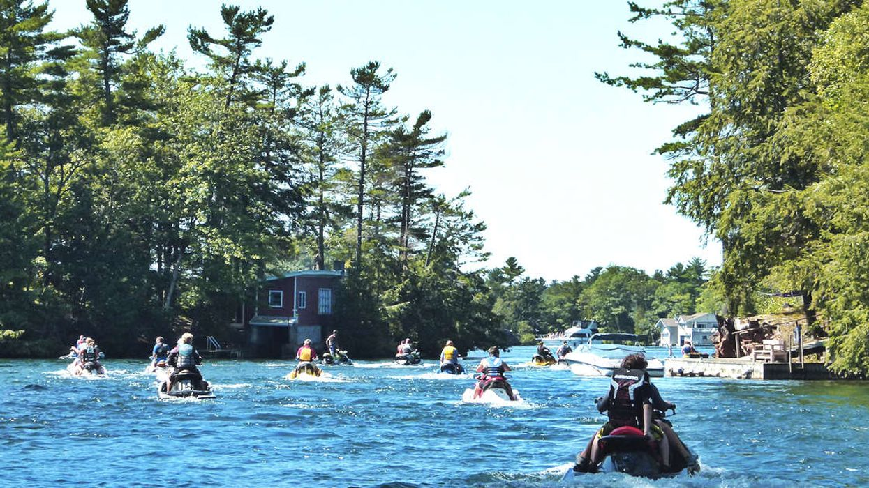 This 145-km Water Route Lets You Explore The 1000 Islands By Jet Ski