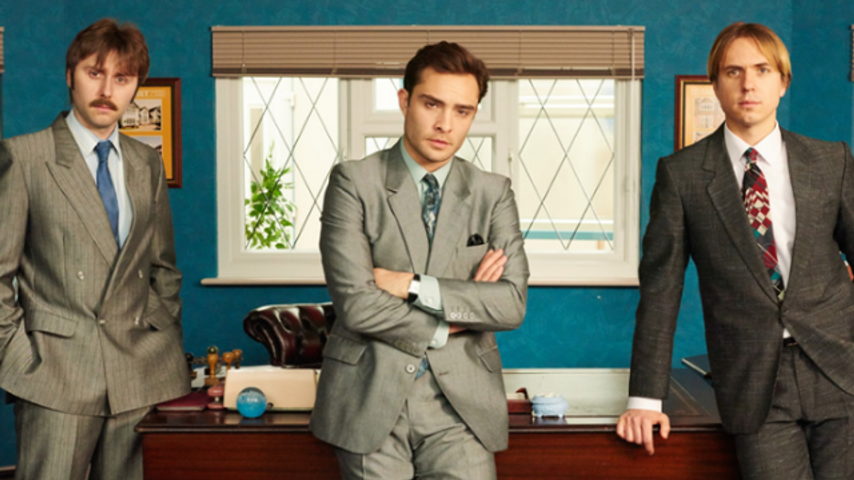 This New Netflix Show Is Basically Chuck Bass In Mad Men