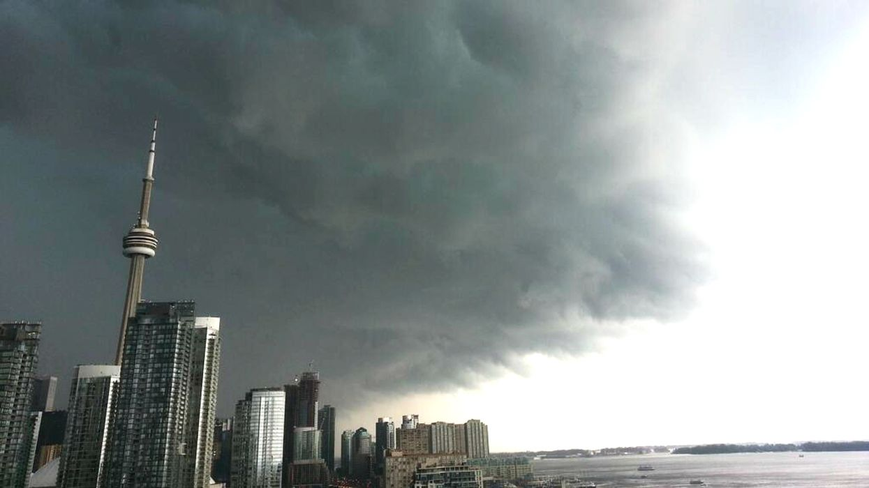 Ontario To Be Hit With Heavy Storms Today And Tomorrow