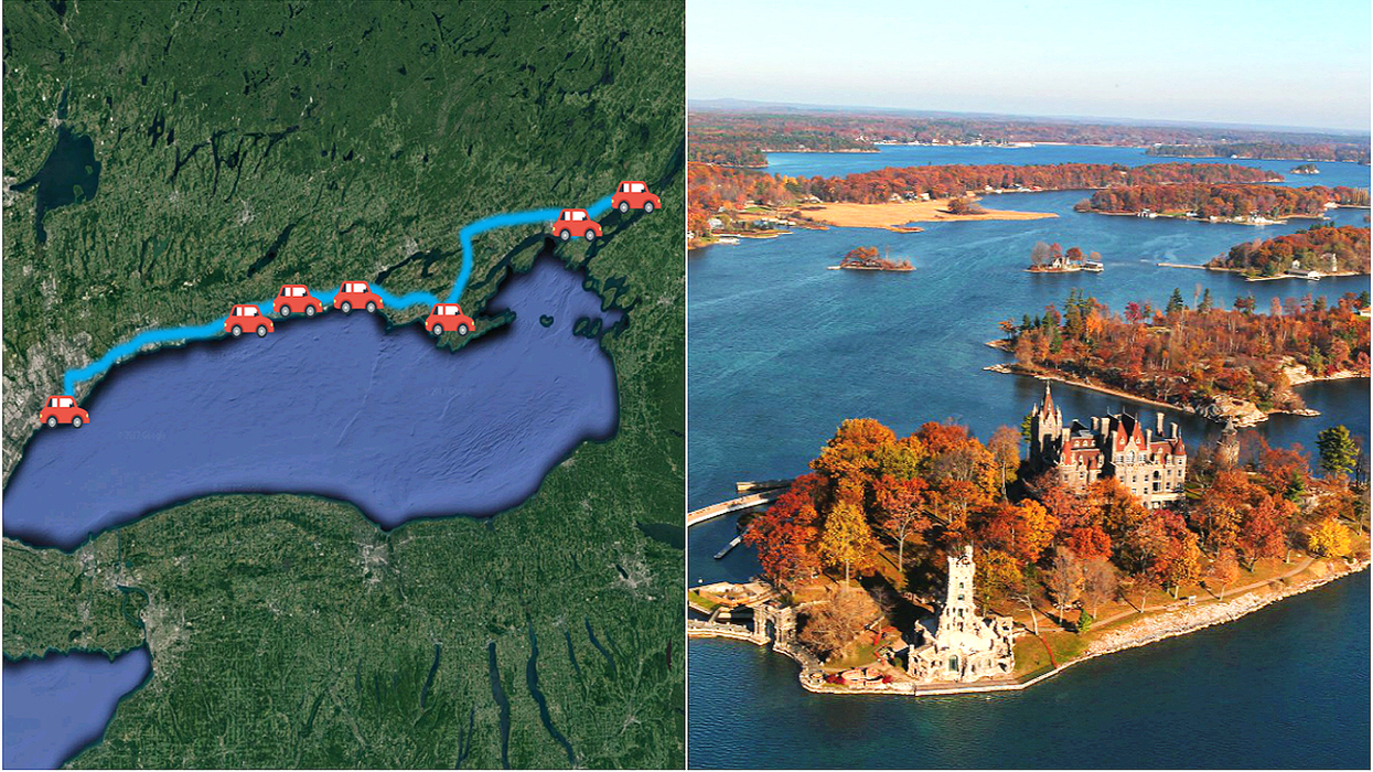 This Is The Best Road Trip You'll Ever Go On From Toronto To The Thousand Islands