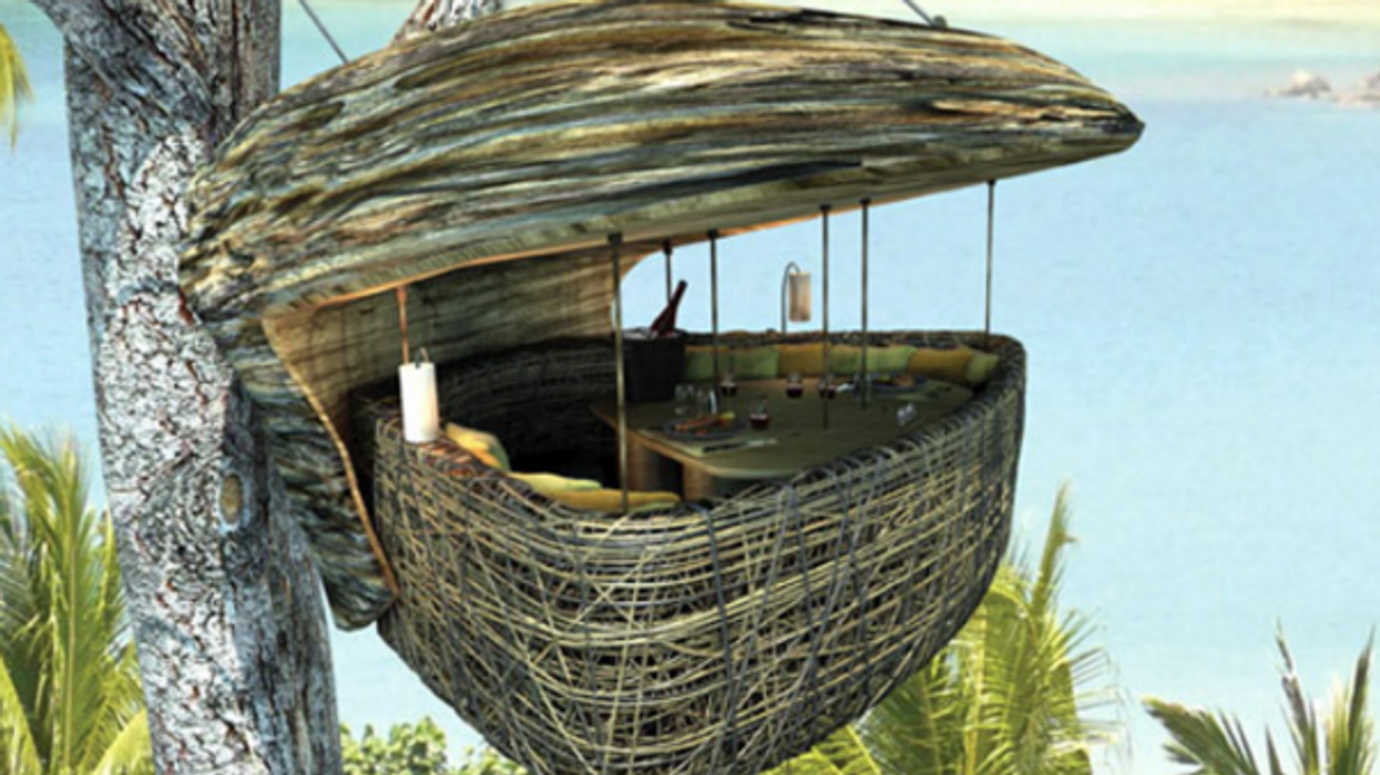 You Can Dine In A Tree At This Amazing Thai Resort