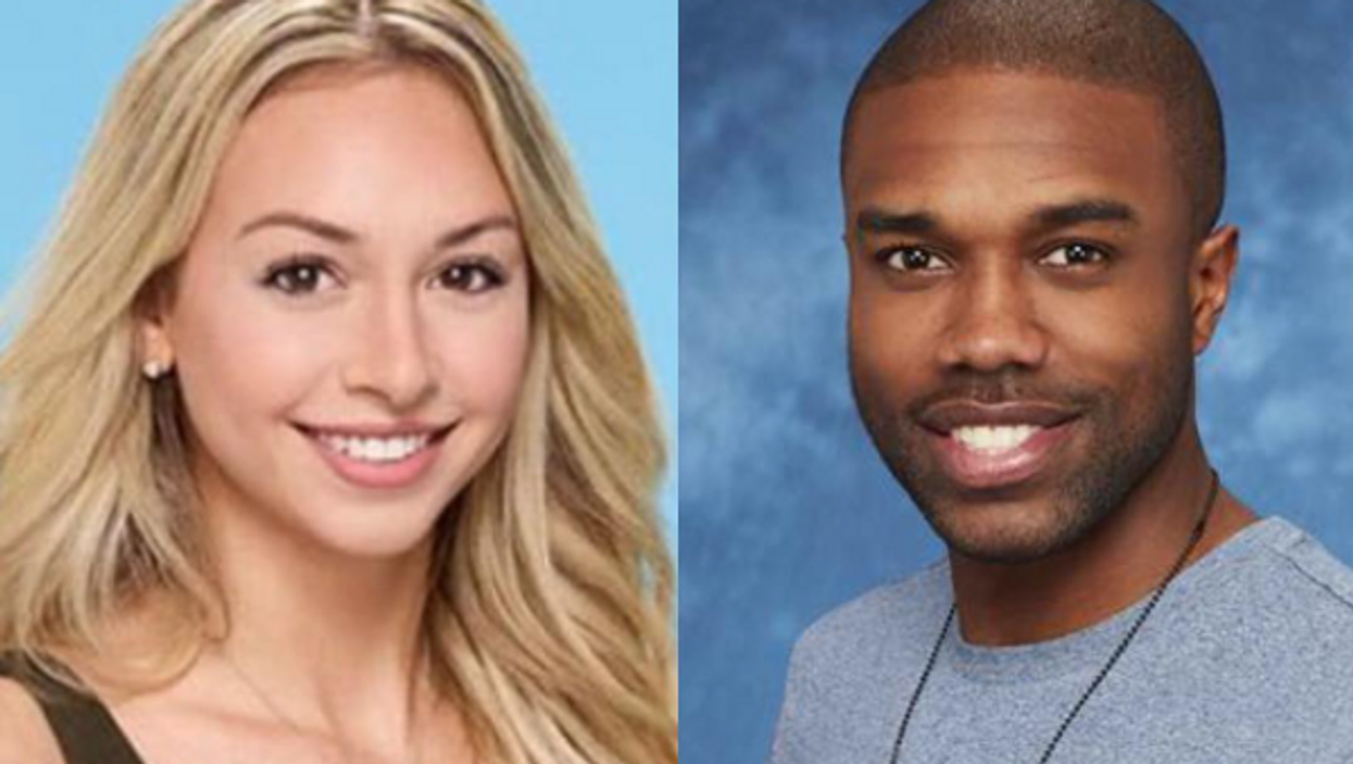 Corinne Olympios And DeMario Jackson Were Caught Kissing Outside The Club