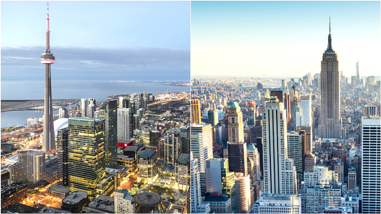 This Is What It Costs To Live In Toronto Vs. New York City
