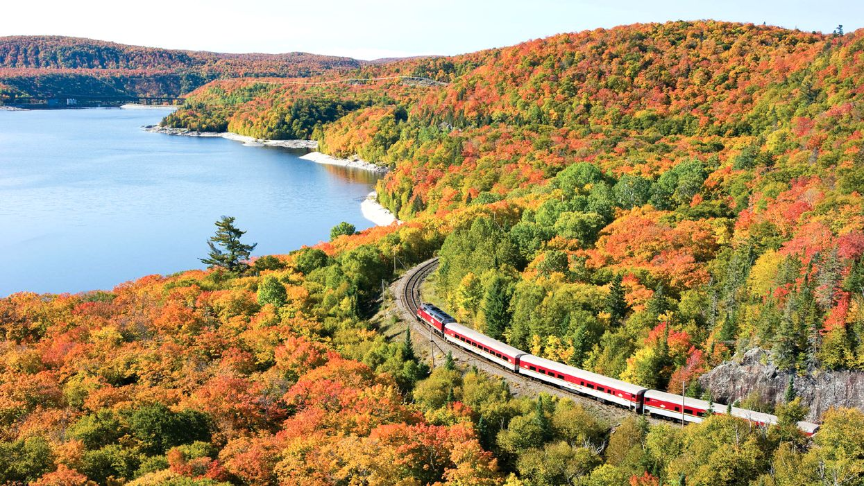 This Train Ride Is The Most Epic Way To See The Fall Colours In Ontario