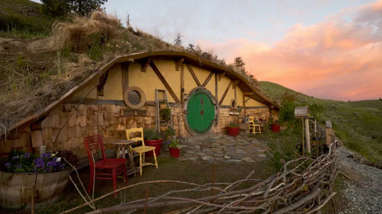 You Can Rent An Actual Hobbit House On Airbnb