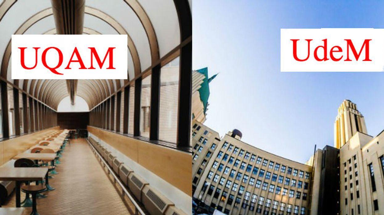 Les choses qu'ont en commun les étudiants de l'UQAM et de l'UdeM