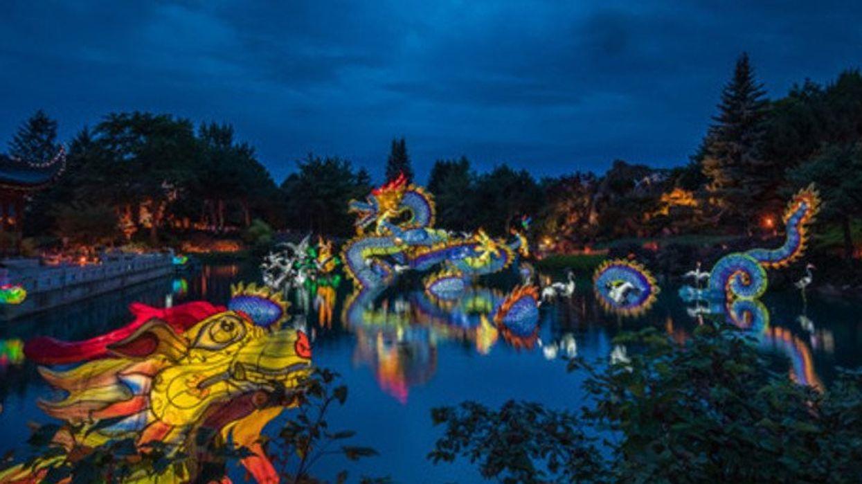 Le festival de lanternes où amener ta date à Montréal cet automne