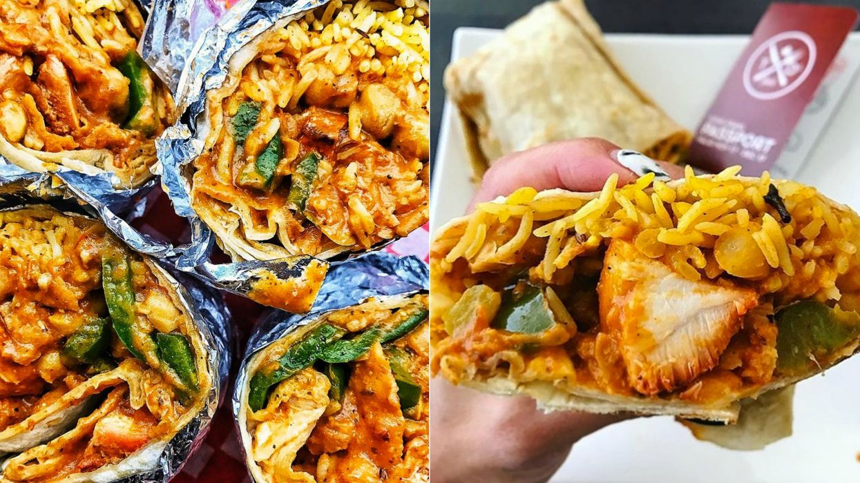 You Can Now Get Butter Chicken Burritos In Toronto