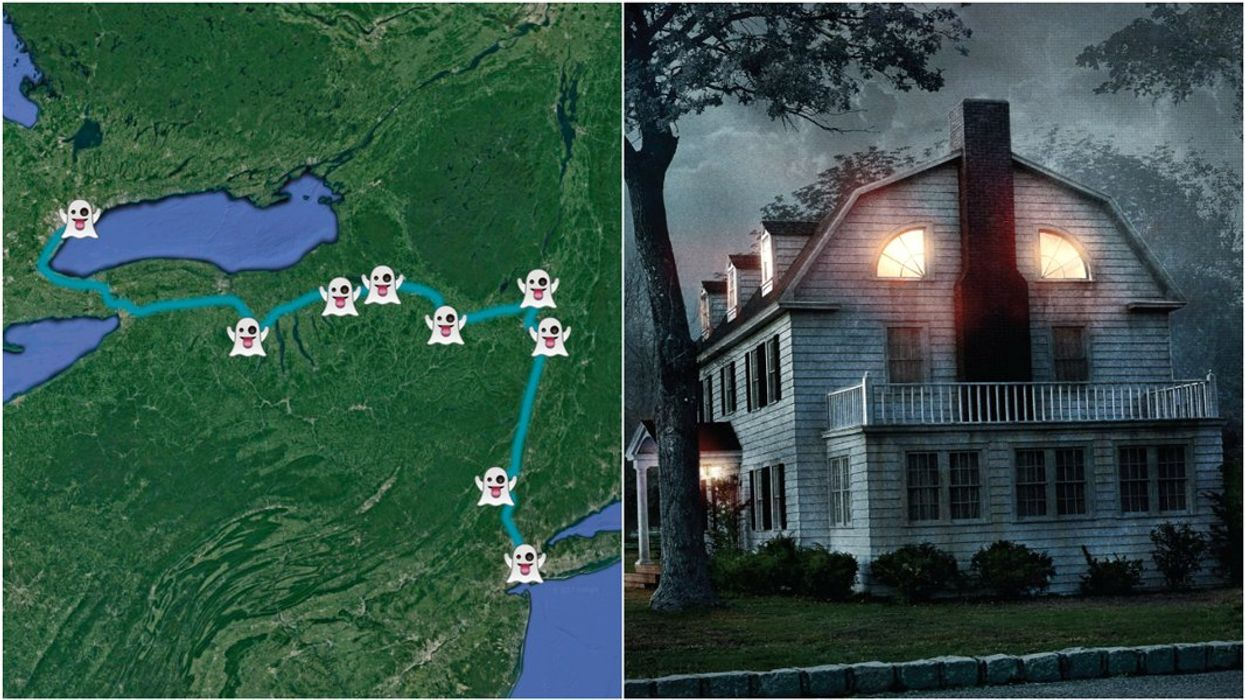 This Road Trip Takes You To The Most Haunted Places From Toronto To NYC