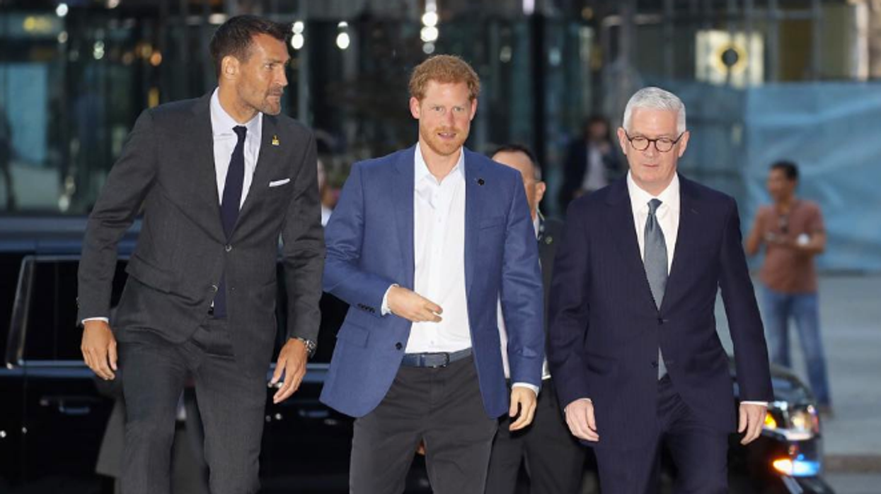 Prince Harry Has Officially Arrived In Toronto For Invictus Games