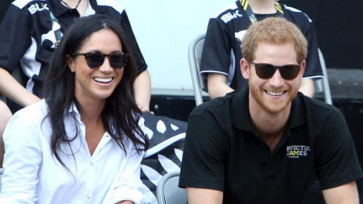 Prince Harry And Meghan Markle Pack On The PDA In Their First Public Appearance Together At The Invictus Games