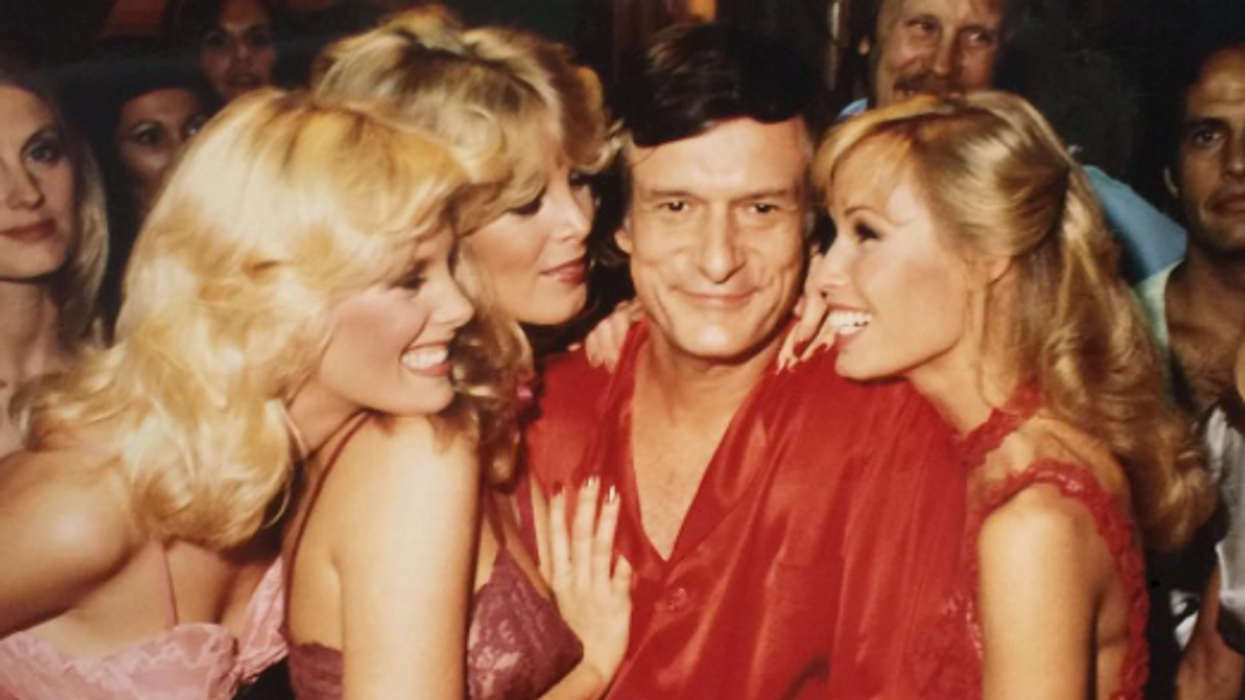A Scandalous Hugh Hefner BioPic Is Officially In The Works With One Of Your Favourite Actors