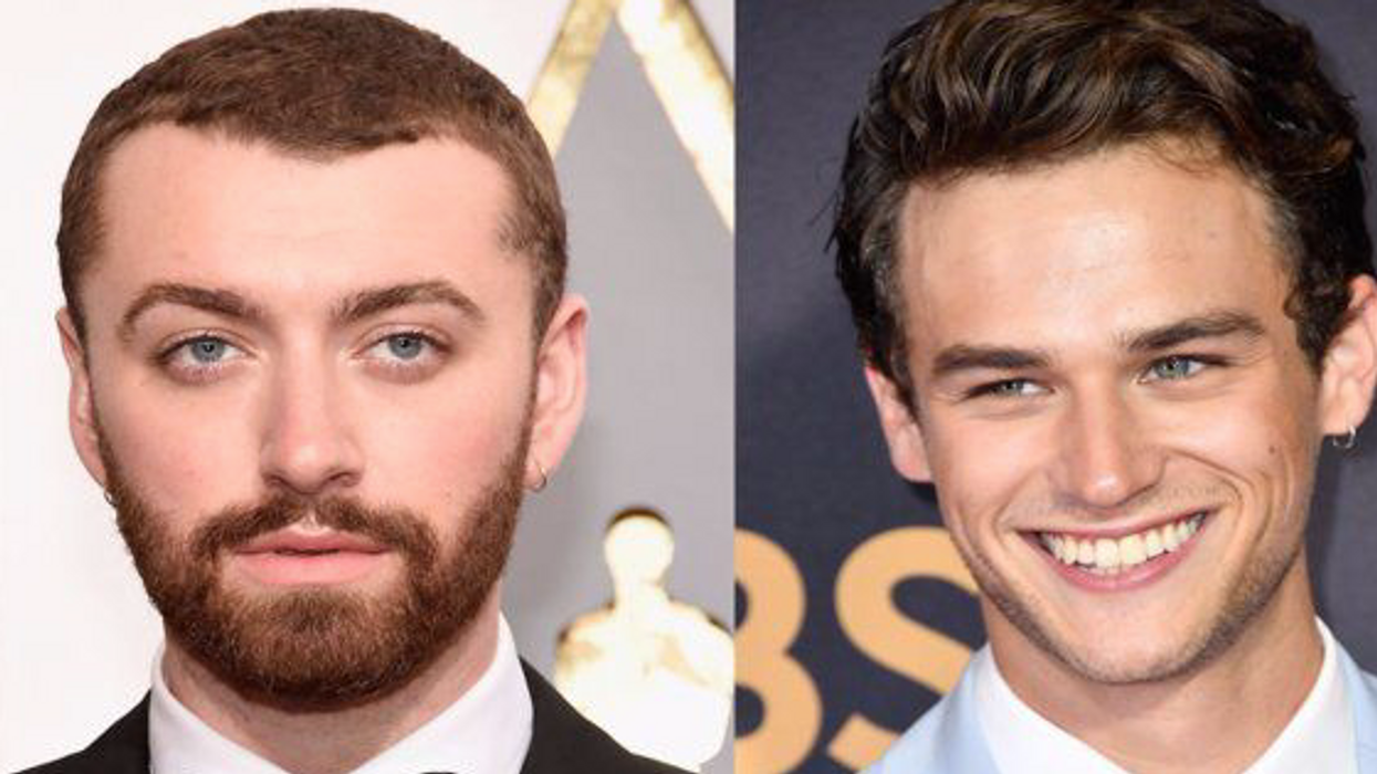 Here's Everything We Know About Sam Smith & '13 Reasons Why' Star Brandon Flynn's Relationship