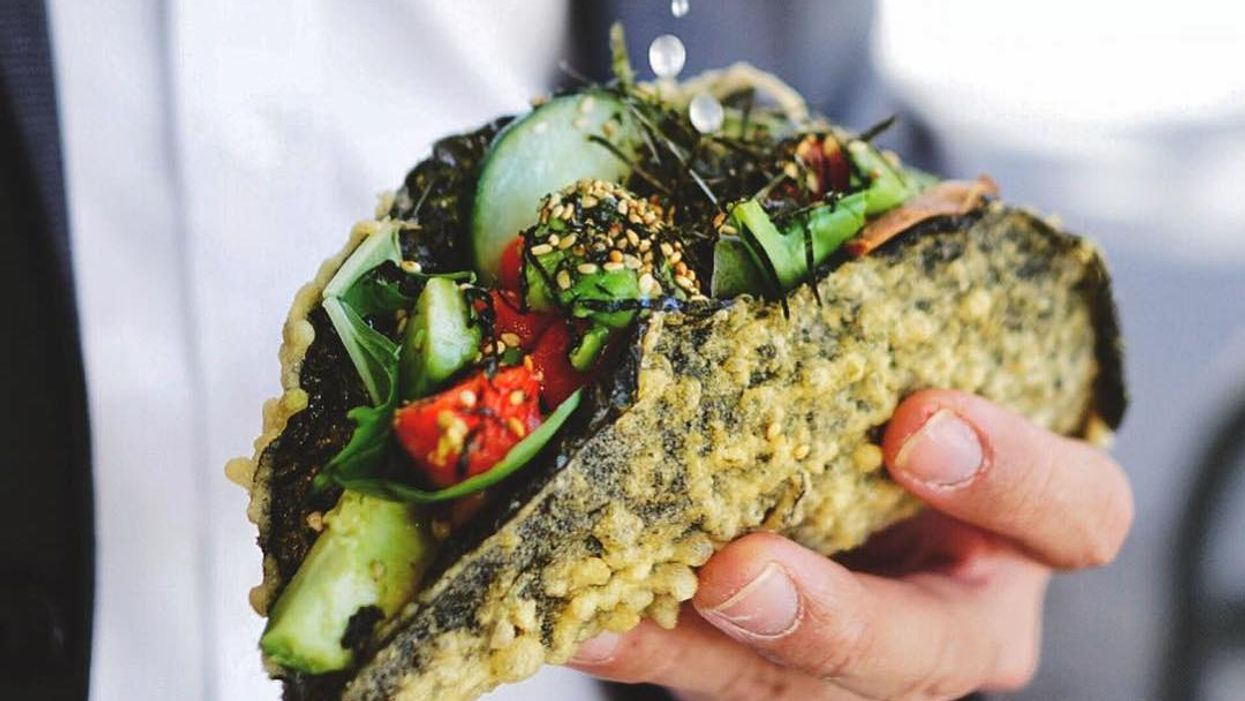 Forget Sushi Burritos, Sushi Tacos Are The Next Big Thing In Vancouver