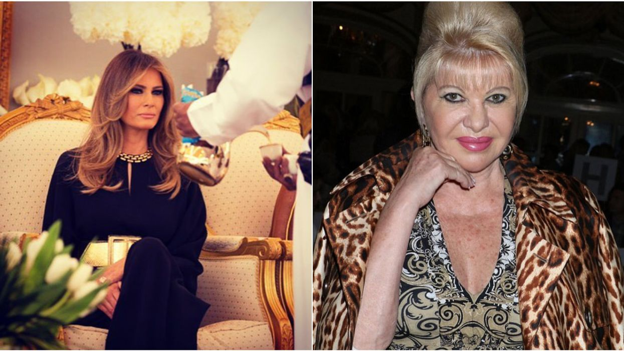 This Feud Between Melania And Ivana Trump Is Officially Getting Out Of Hand