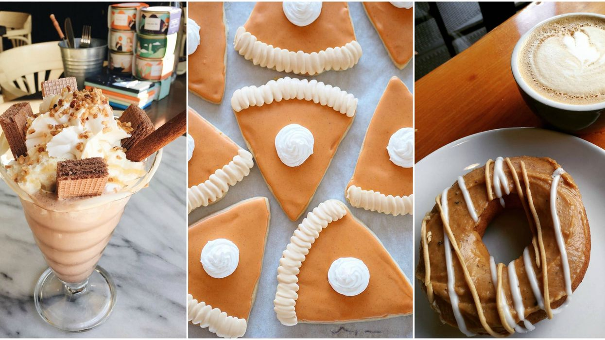 24 Bucket List Pumpkin Spice Desserts You Have To Try In Vancouver This Fall