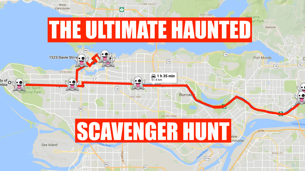 This Haunted Scavenger Hunt Will Take You To The Creepiest Places In Vancouver