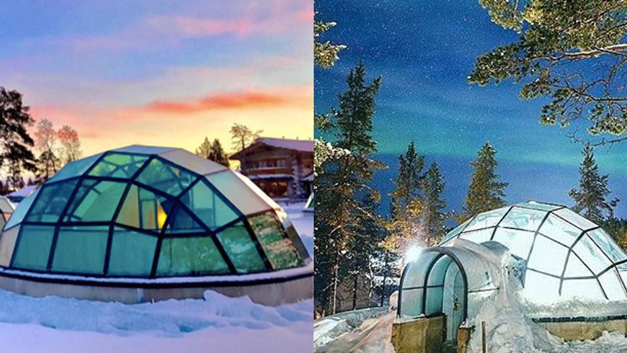 This Is Where You Can Find Those Magical Ice Igloos Everyone's Been Instagramming