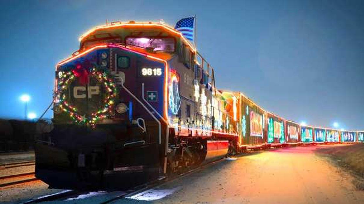 Le train de Noël qui traverse le Canada fait 2 arrêts à Montréal cette année!