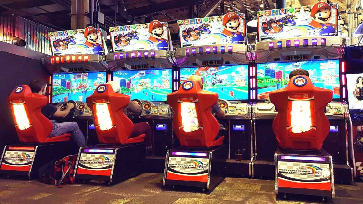 This Mario Kart Arcade Is The Perfect Way To Ruin Your Friendships In Toronto