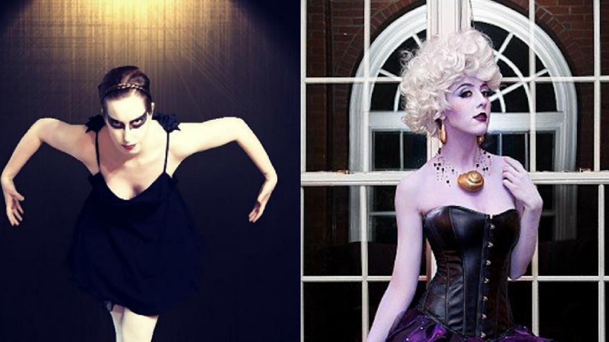 9 idées de costumes d'Halloween si t'as pas une cenne mais t'as une petite robe noire