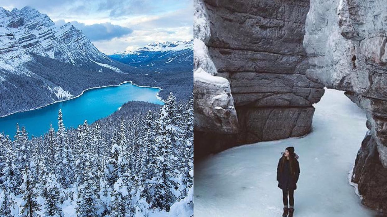 12 Places To Spend Your Christmas Break In Alberta If You're Broke AF