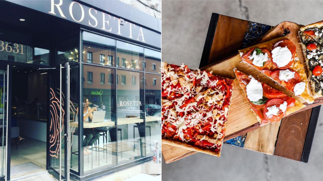 Cette nouvelle pâtisserie fait aussi des pizzas qui vont te donner envie de luncher dans Saint-Henri