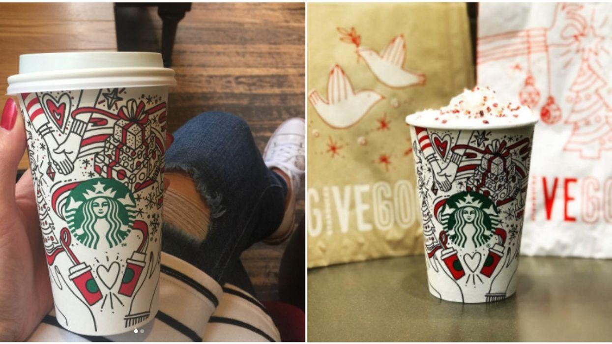 2 nouvelles boissons des fêtes sont arrivées au Starbucks