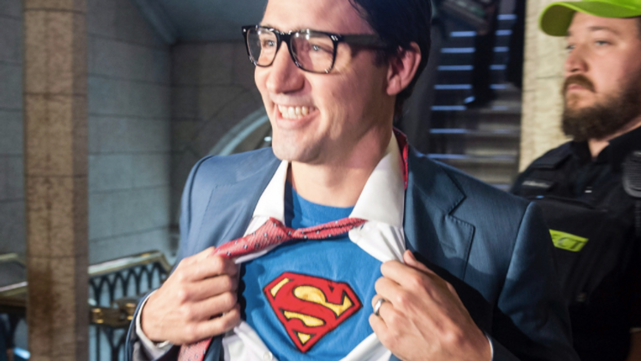 Trudeau Dressed Up For Halloween And People Can't Get Enough