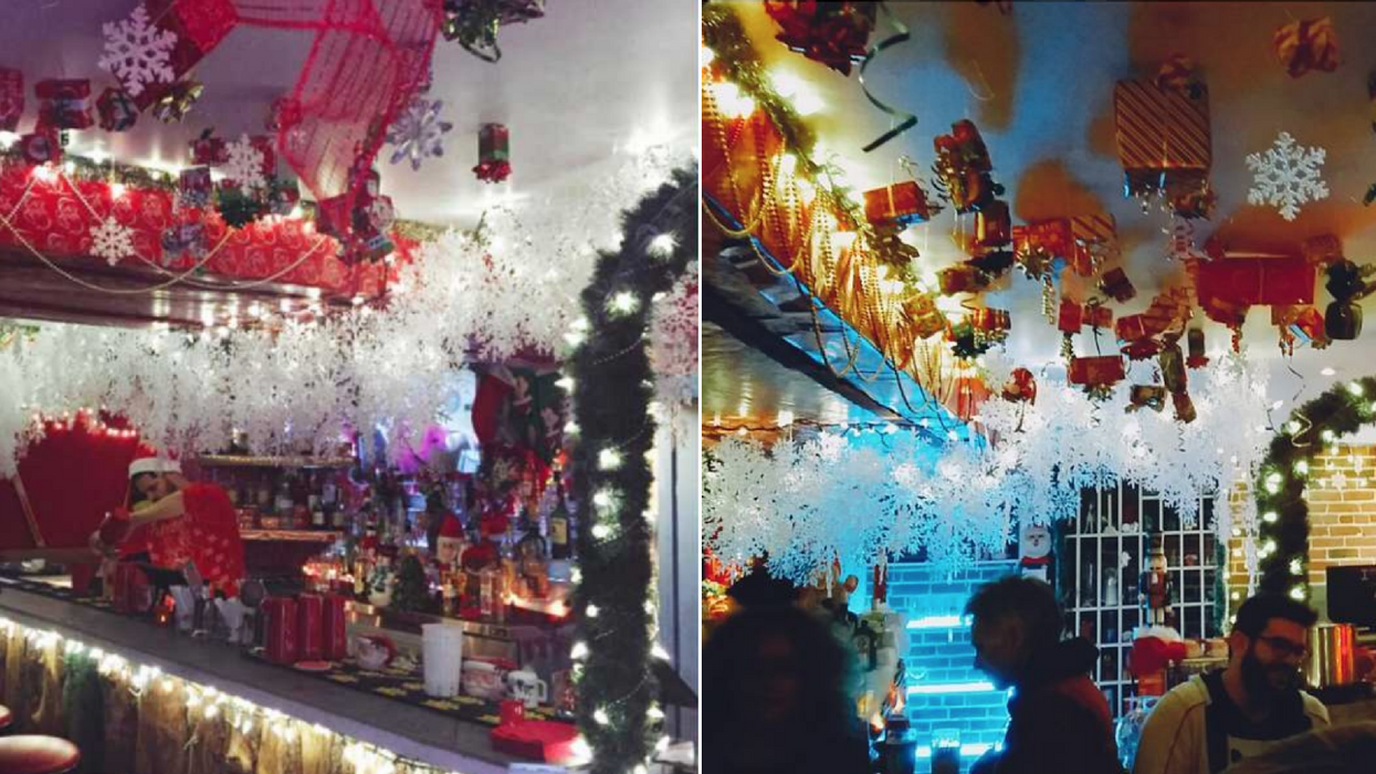 This Bar Near Ontario Turns Into The Most Magical Place To Celebrate The Holidays