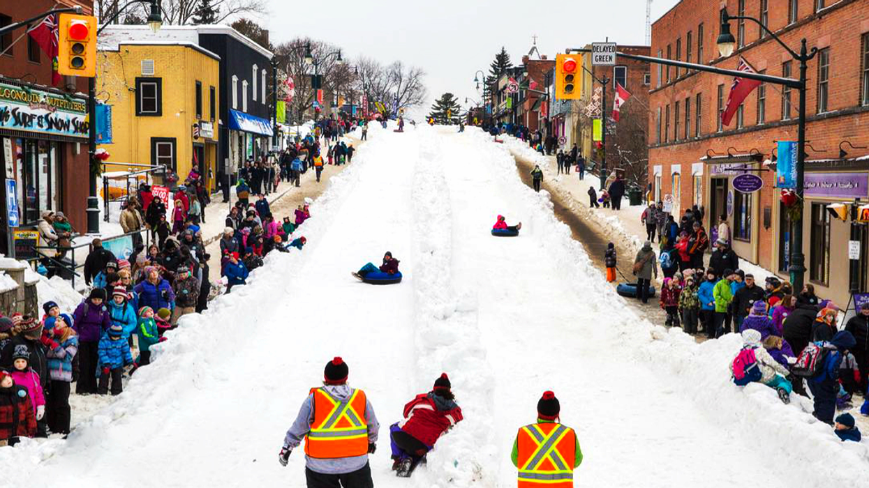 This Ontario Town Will Transform Its Downtown Into A Massive Snow Tubing Hill