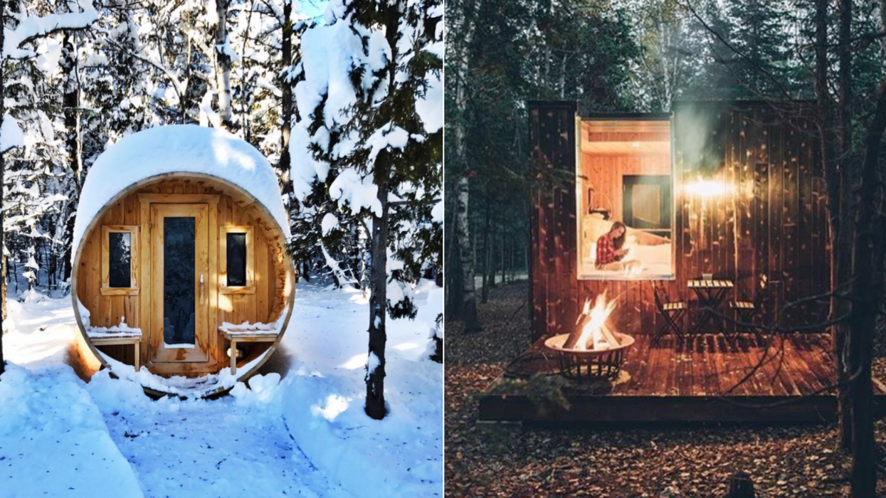 You Can Rent These Mini Cottages Near Ontario For A Magical Night In The Forest