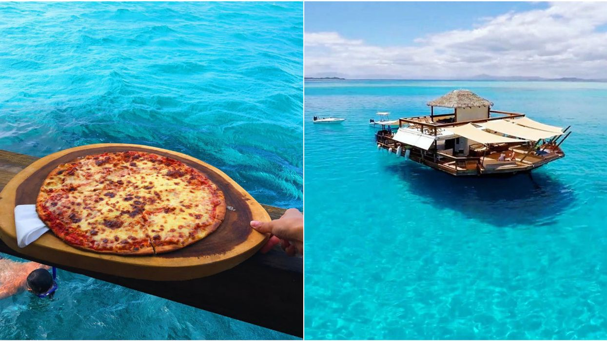 There's A Floating Pizzeria In Fiji And It's A True Paradise On Earth
