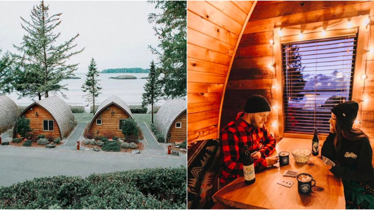 These Cute AF Tiny Cabins In BC Are The Perfect Winter Getaway
