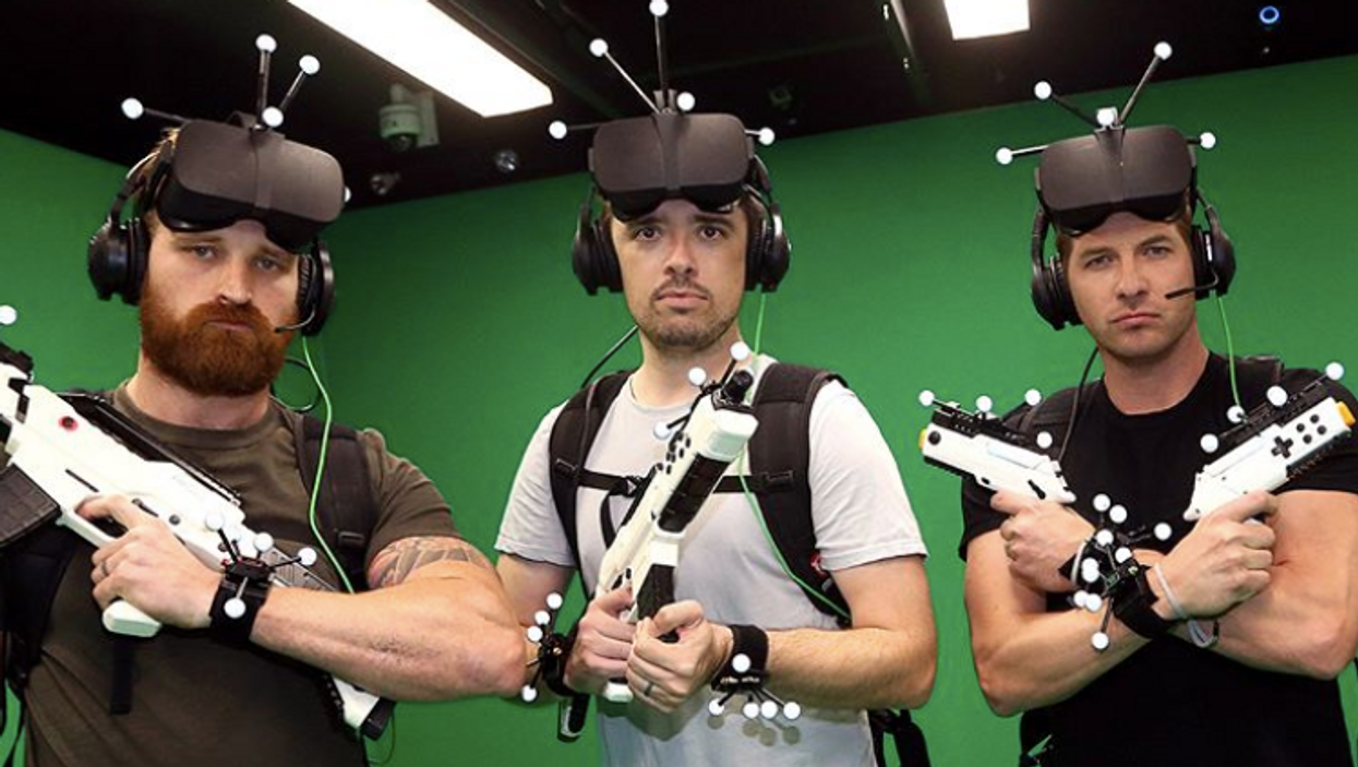Toronto's First-Ever IMAX Virtual Reality Arcade Is Now Open
