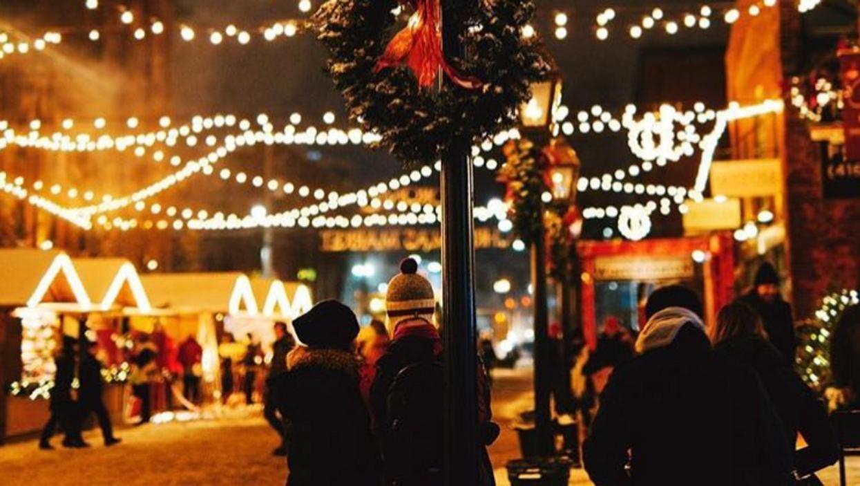 Un village de Noël gratuit prendra vie à deux pas du Marché Atwater